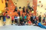 Gruppenfoto Kinder hiclimb bouldern_edit